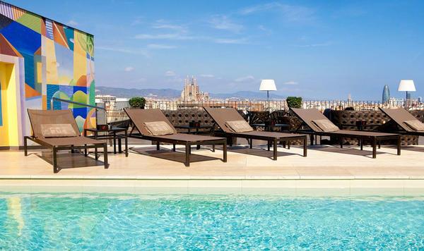 El Barcelone Avec Piscine Sur Le Toit | Les 10 Meilleurs Hotels Avec Piscine Sur Le Toit A Barcelone Splendia