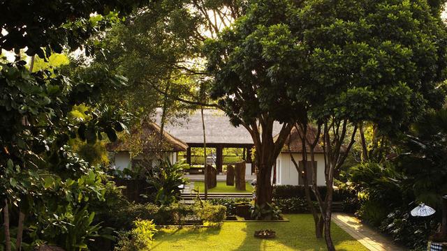 Vasca Da Bagno Uma : Como uma ubud bali hotel di lusso a ubud indonesia splendia